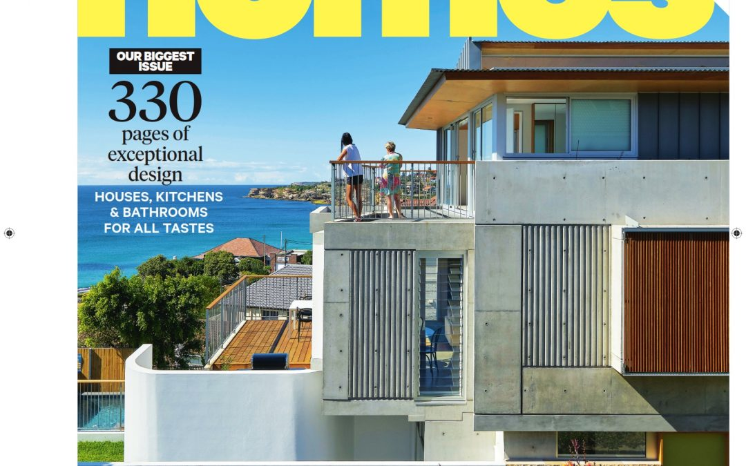 SFN Tamarama Project Selected for Front Cover of the Best Homes Magazine