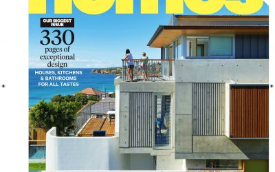 Tamarama Project selected for front cover of Best Homes Magazine